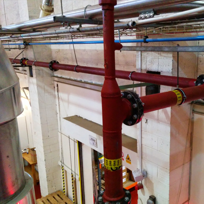 Commercial pipework design London & South East